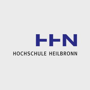 Hier ist das Logo der Hochschule Heilbronn zu sehen.