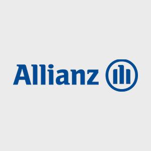 Hier ist das Logo der Allianz zu sehen.